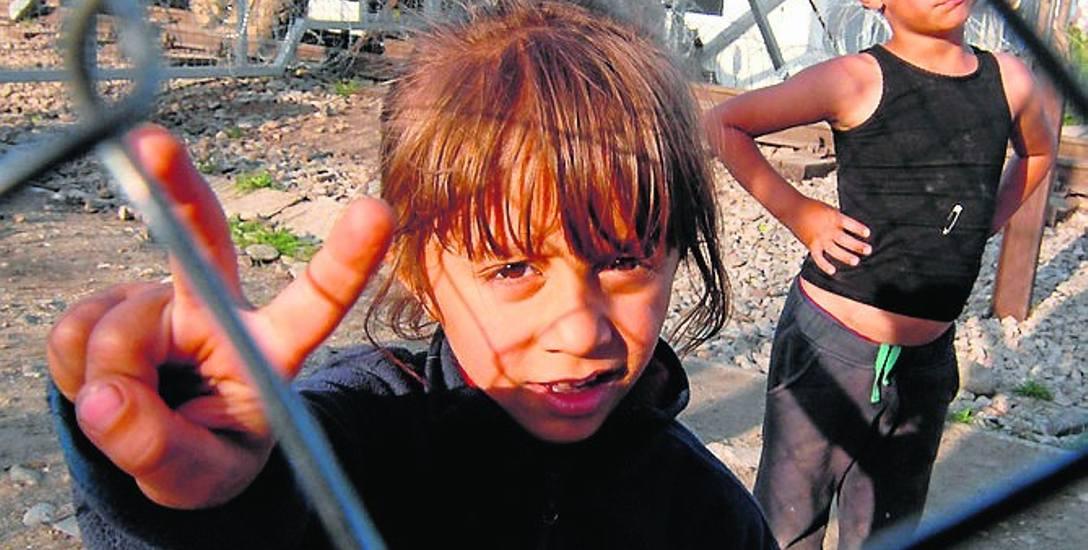 Dzieci w obozie dla uchodźców w Libanie
