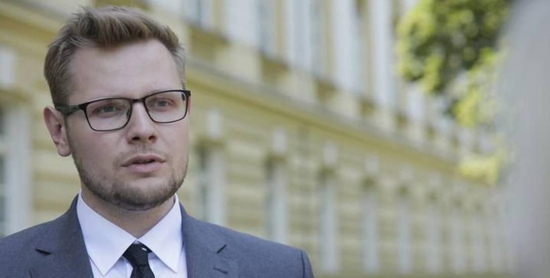 Minister Michał Woś