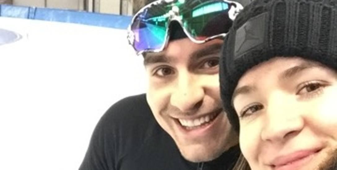 Jan Szymański i Magdalena Idziorek spotkają się na torze lodowym już za kilkanaście dni w koreańskim Pjongczangu