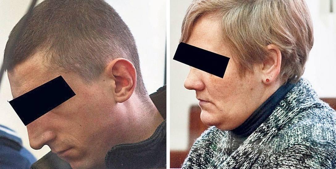 Sebastian D. usłyszał wyrok 8 lat więzienia. Za nieudzielenie pomocy mężowi Wiesława F. dostała rok w zawieszeniu na dwa lata.