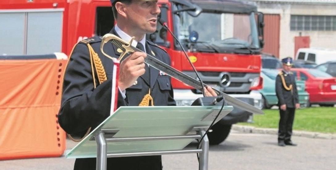 Krzysztof Kokoszka przez 14 lat kierował komendą PSP w Bochni. Teraz ma duże ambicje, aby zostać burmistrzem solnego miasta