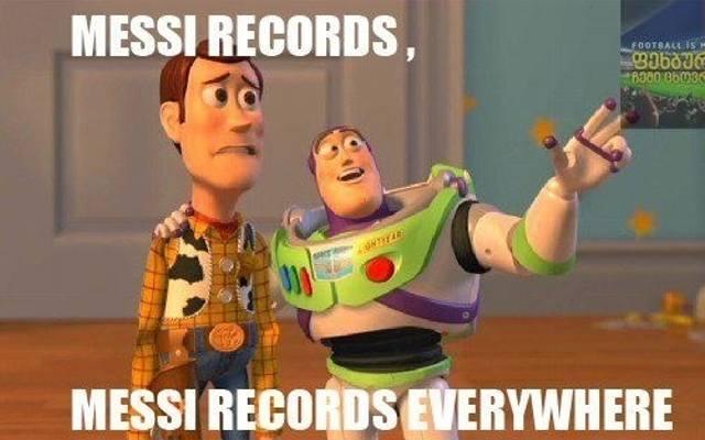 42ccfa4df Messi lepszy niż Ronaldo. Wyrównał rekord Raula [MEMY, KOMENTARZE  INTERNAUTÓW, WIDEO]