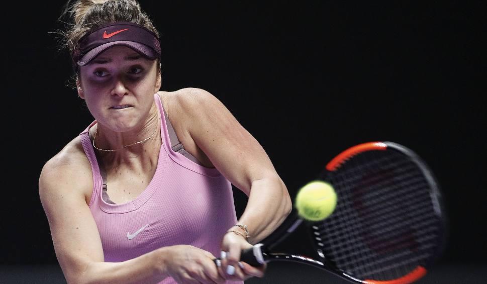 Film do artykułu: WTA Finals. Elina Switolina na dobrej drodze do obrony tytułu. Ukrainka bez straty seta w półfinale