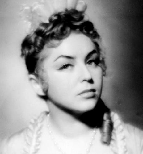 Kalina Jędrusik w 1952 roku
