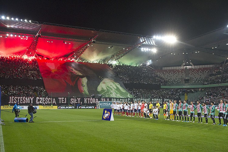 Fotorelacja z meczu Legia Warszawa - Górnik Zabrze 5:1 [GALERIA, KIBICE]