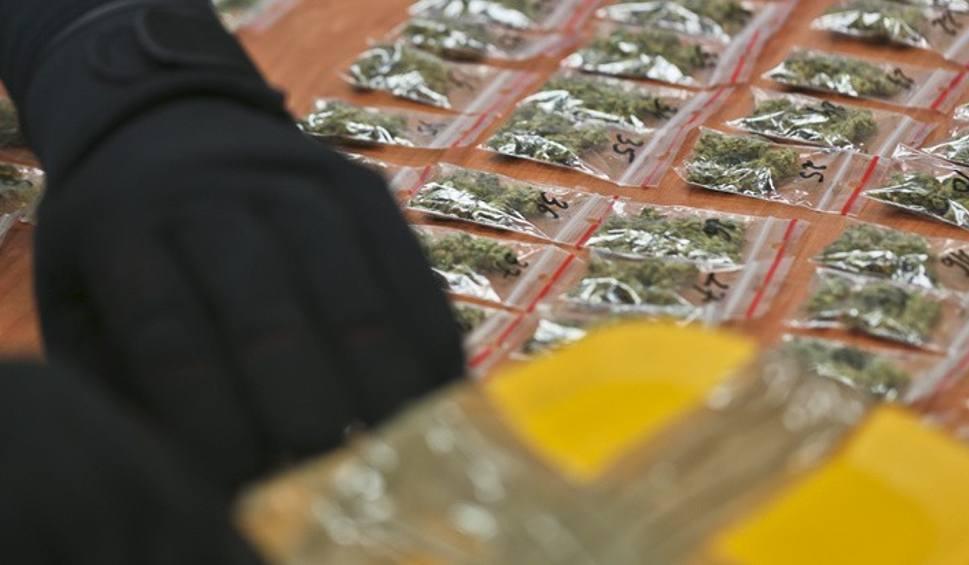 Film do artykułu: Z magazynu żarskiej komendy zniknęły narkotyki. Trzech policjantów z zarzutami