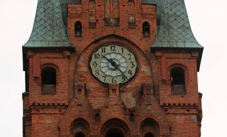 Jerzy Korecki opowiada o bydgoskich kościołach i wieżowych zegarach - cz. 4