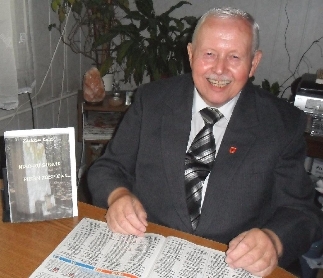 Zdzisław Kuliś prezentuje swoją nową książkę