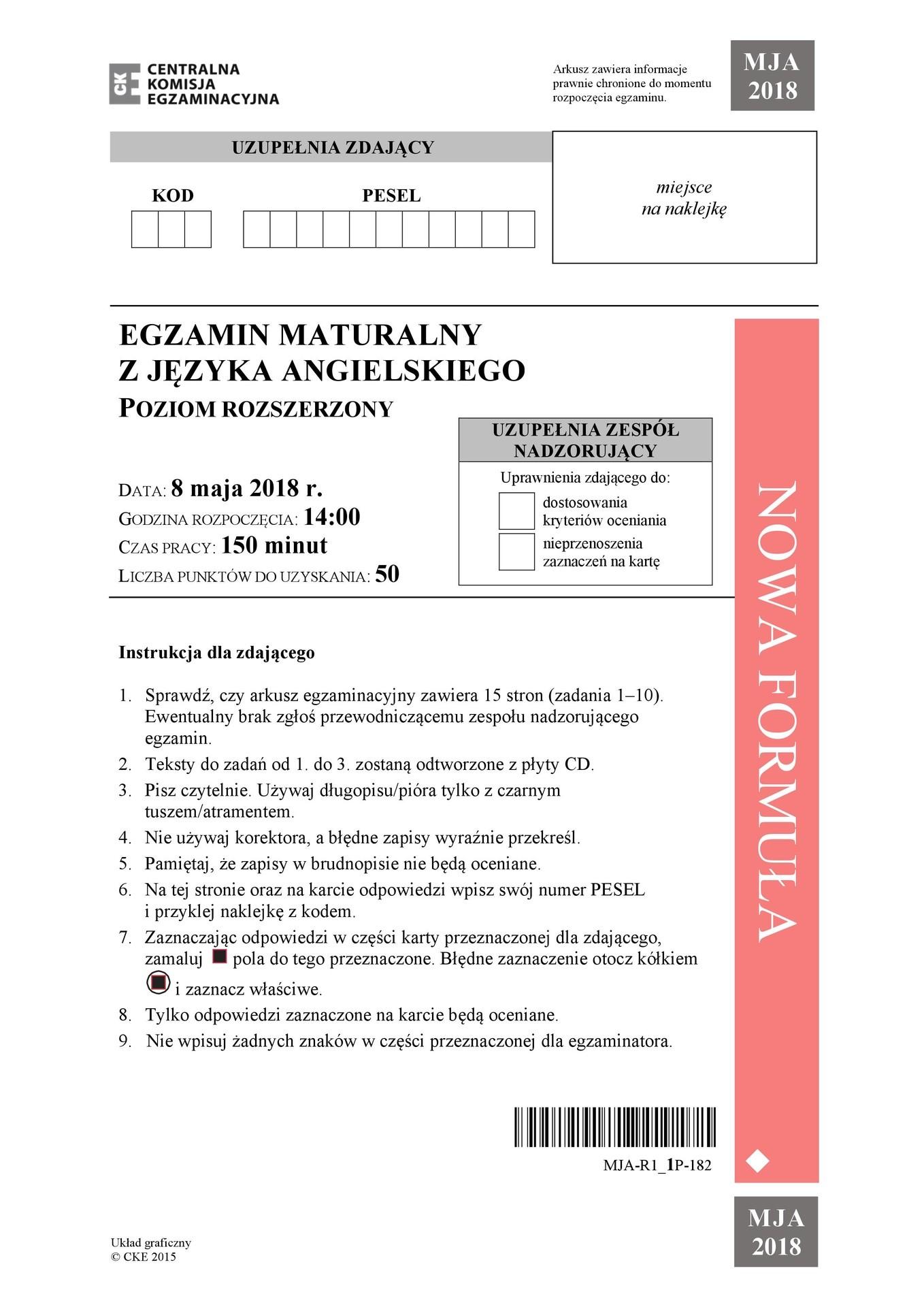 angielski matura rozszerzona 2021 odpowiedzi