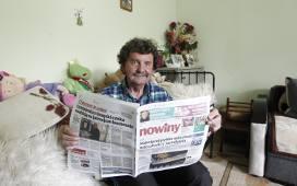 5000 zł wygrał Tadeusz Kornecki z Nowosielec. Pan Tadeusz czyta Nowiny i gra dalej w loterii