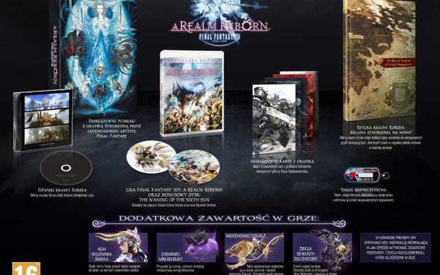 Final Fantasy XIV: A Realm Reborn. Edycja kolekcjonerska też będzie