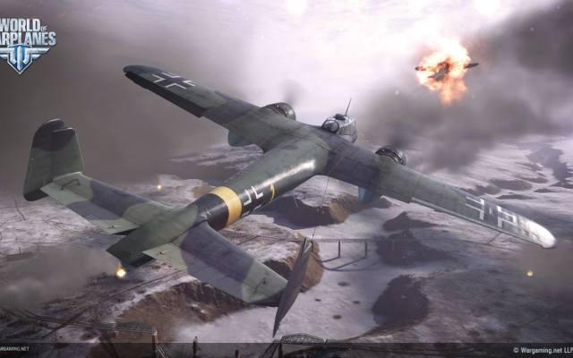 World of Warplanes: Śnieżki i UFO