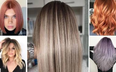Zobacz NAJMODNIEJSZE kolory włosów na lato 2020