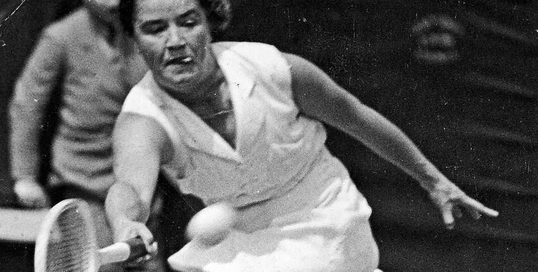 Jadwiga Jędrzejowska trzy razy była w finale Wielkiego Szlema