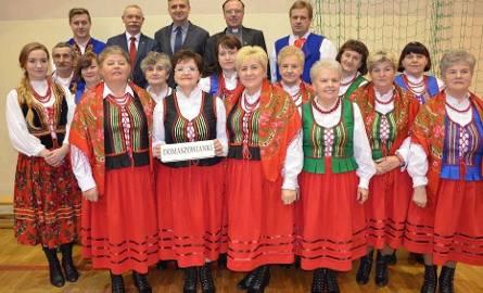 Zespół Śpiewaczy Domaszowianki w piątek o 12.30  miał najwięcej głosów wśród uczestników akcji Gospodynie i Gospodarze Wiejscy 2017.