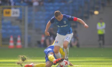 Gajos został ukarany za faul w meczu z Arką Gdynia.