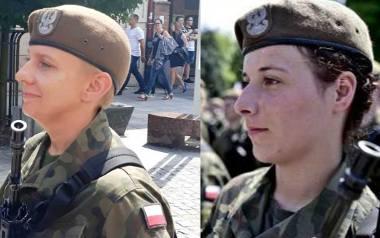 Magdalena Łuszczyk (na zdjęciu z lewej) oraz Aleksandra Najmrodzka służą w grójeckim batalionie Wojsk Obrony Terytorialnej.