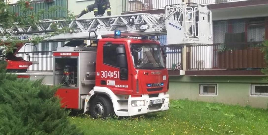 Straż Pożarna w Łodzi z roku na rok ma coraz więcej pracy