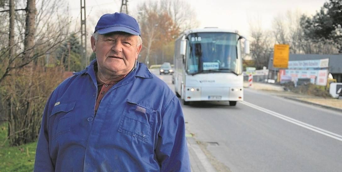 Jacek Bogusz ma nadzieję, że budowa nowego łącznika autostradowego w końcu dojdzie do skutku
