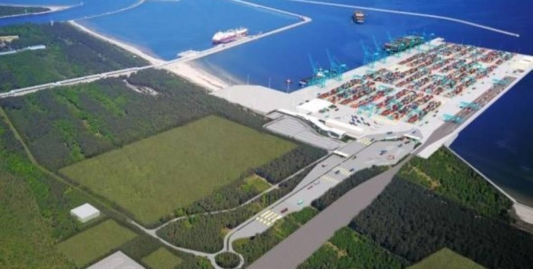 Terminal kontenerowy w Świnoujściu ma powstać na plaży w dzielnicy Warszów