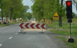 Utrudnienia drogowe w Nowym Kawęczynie