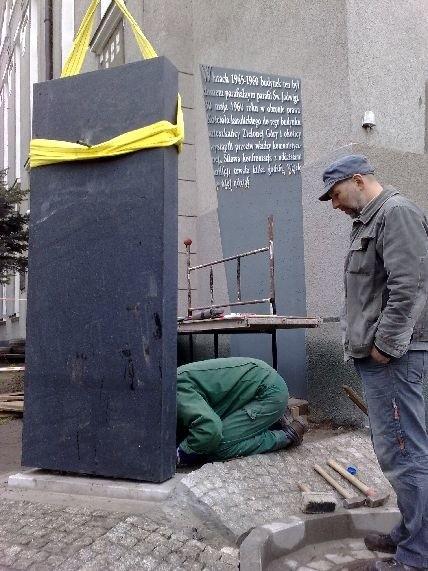 pomnik, wydarzenia zielonogórskie