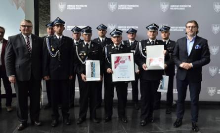 Wspólnie z Zarządem Wojewódzkim Związku Ochotniczych Straży Pożarnych RP nagrodziliśmy najlepszych z najlepszych – strażaków ochotników, jednostki OSP