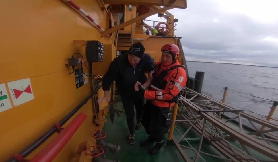Film do artykułu: Ratownicy apelują do żeglarzy - zostańcie w portach [wideo]