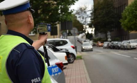 Kontrole policji w Strefie Tempo 30 w Katowicach