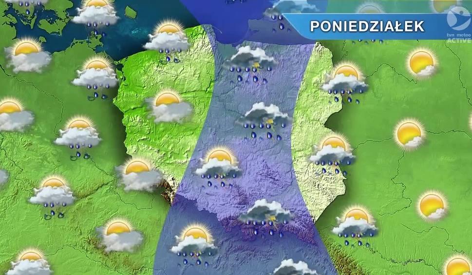 Film do artykułu: Pogoda w Opolu i na Opolszczyźnie. Poniedziałek deszczowy