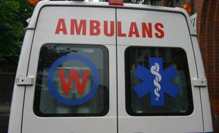 Mężczyzna trafił do szpitala w Zielonej Górze.