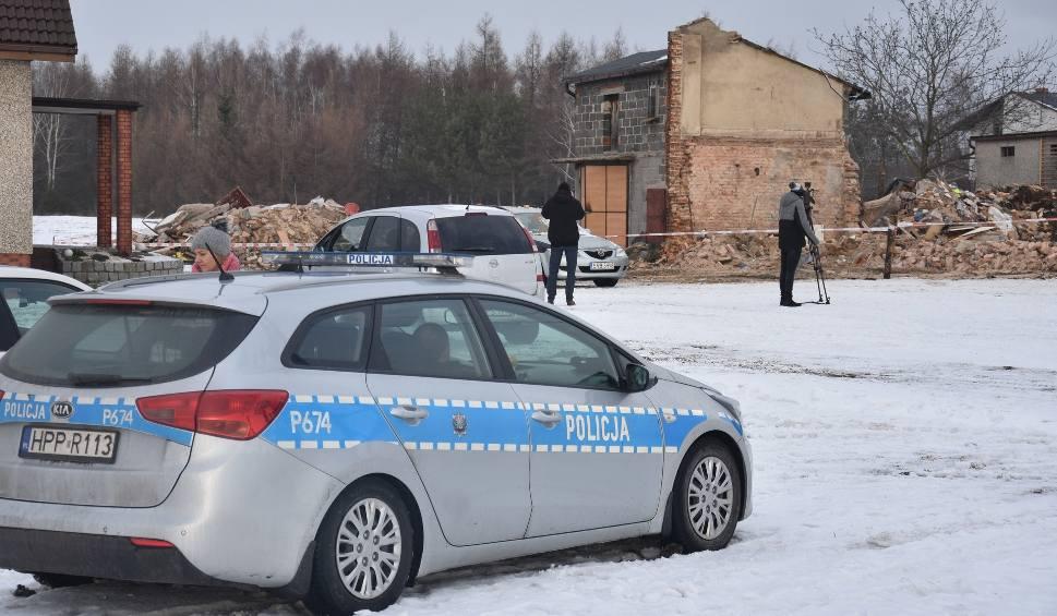 Film do artykułu: Wybuch butli z gazem w Szczerbicach. Mieszkańcy: Dom sąsiada nagle się zapadł WIDEO + ZDJĘCIA