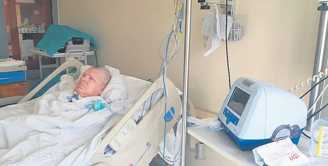 Mama pani Doroty od czterech lat oddycha tylko dzięki respiratorowi. W domu opiekuje się nią rodzina. Z powodu komplikacji trafiła do szpitala, ale od
