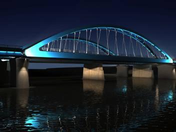 Taka była pierwotna wizualizacja nowych mostów
