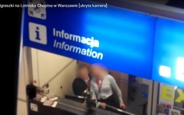 Seks na lotnisku Chopina