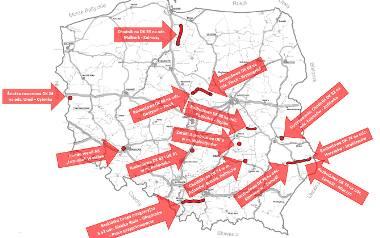 Rządowa decyzja o 14. ważnych inwestycjach drogowych w dziewięciu województwach. Sprawdź!