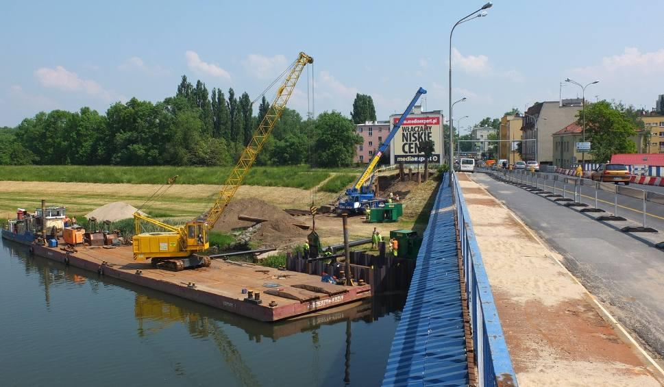 Film do artykułu: Ruszyła budowa nowego mostu na ulicy Niemodlińskiej w Opolu