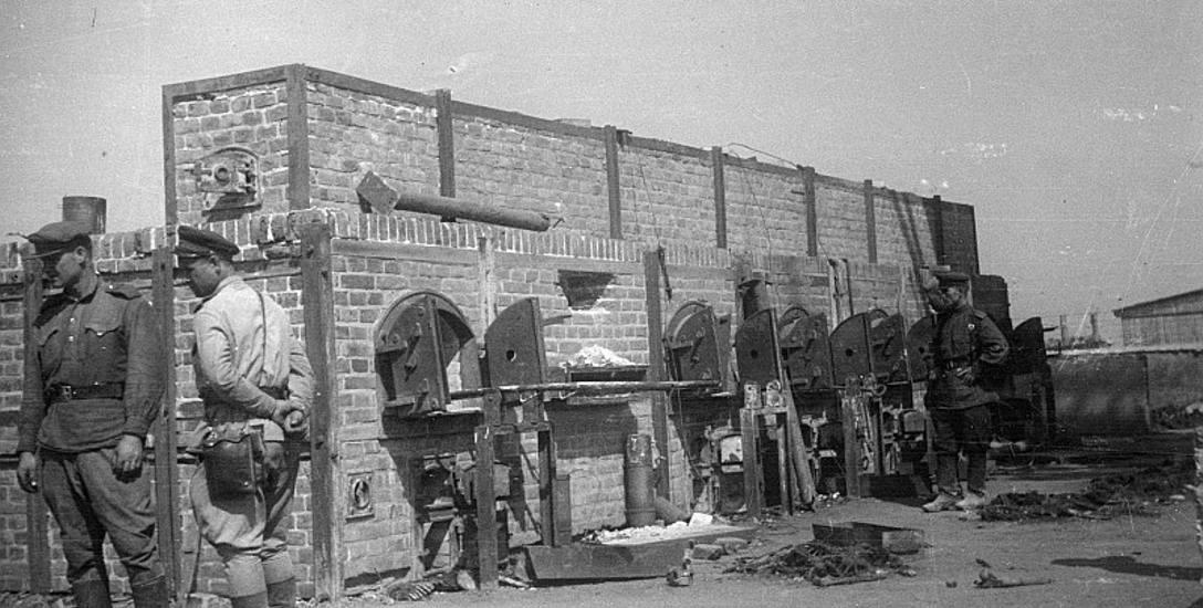 Sierpień 1944, oswobodzony obóz Majdanek