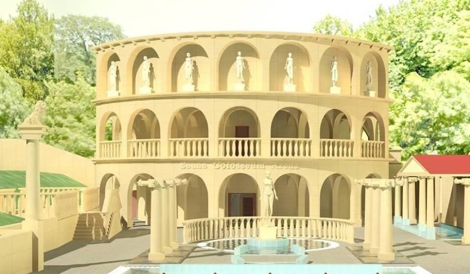 Film do artykułu: Największa sauna w Polsce i na świecie powstaje w Czeladzi. Colosseum pomieści 300 osób. Otwarcie w maju 2020. Zdjęcia, wizualizacje