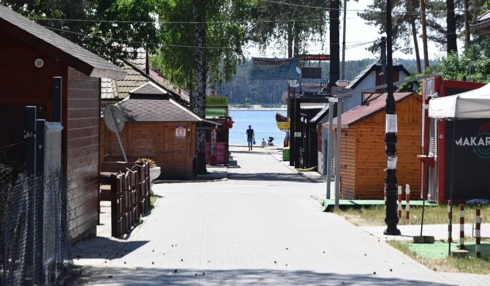 Film do artykułu: Będzie nowa atrakcja nad zalewem w Sielpi. Pomosty połączą dwa brzegi Świętokrzyskiej Ibizy [WIDEO]