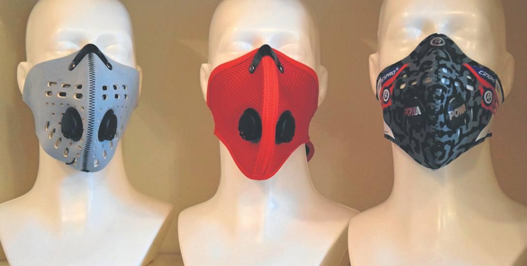 Trzeba pamiętać, że przed smogiem mogą nas uchronić maski, które posiadają filtr