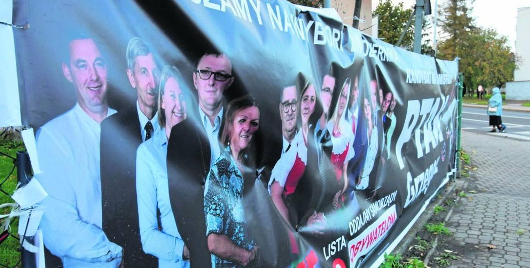 Ostania kampania wyborcza wybitnie zaowocowała w banery uliczne. Koszt jednego w zależności od wielkości to co najmniej kilkaset złotych.