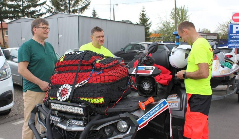 Film do artykułu: Ratownicy Środowiskowo - Lekarskiego WOPR z Radomia, są gotowi do sezonu (WIDEO, ZDJĘCIA)