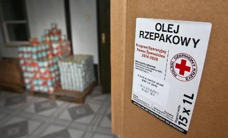 Z wrocławskiego PCK w dziwnych okolicznościach zniknęło prawie 46 ton żywności