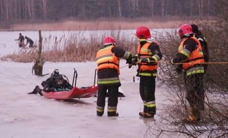 Uwaga na zamarznięte zbiorniki wodne w Słupsku. Miejskie Centrum Zarządzania Kryzysowego ostrzega