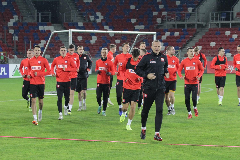 Baraż U-21: Polska - Portugalia. Polacy trenowali na stadionie Górnika Zabrze ZDJĘCIA