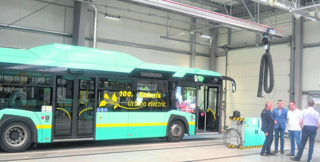 Na razie, 40 procent taboru wykorzystywanego na co dzień przez PKM Jaworzno to autobusy elektryczne