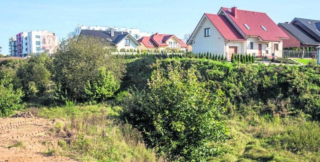 Konflikt dewelopera z mieszkańcami o ten wąwóz przekształcił się w walkę z władzami miasta o plan zagospodarowania.
