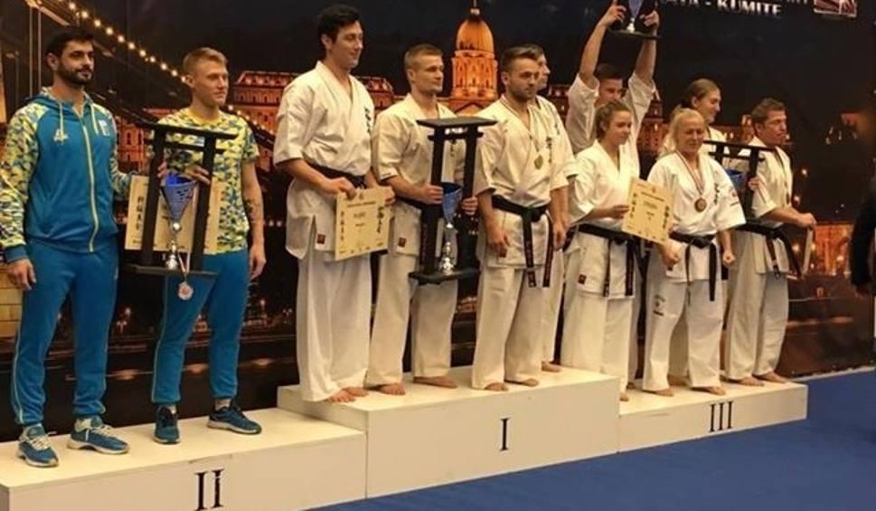 Film do artykułu: Karate kyokushin. Opolanie dzielnie walczyli w mistrzostwach Europy. Zdobyli trzy medale