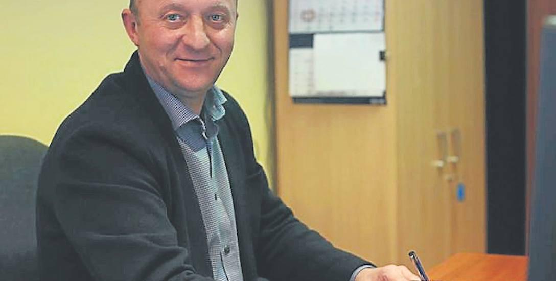 Zbigniew Perzyna pomaga konsumentom w Słupsku.